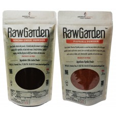 Raw Garden Ancho Chile Powder and Paprika (2 pack of 24 oz)