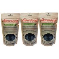 Rawseed Organic Black  Lentils  6 lbs (3 Pack 2 lbs) Non Gmo