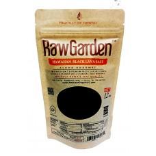 Raw Garden Hawaiian Black Lava Coarse Salt 12 oz