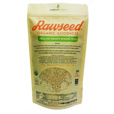 Rawseed Organic Brown Sesame Seeds 1 1/2 lbs 1 Pack