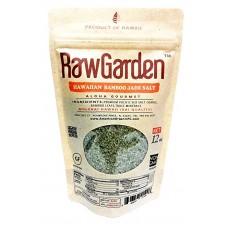 Raw Garden Hawaiian Green Bamboo Coarse Salt 12 oz Original Hawaiian Salt