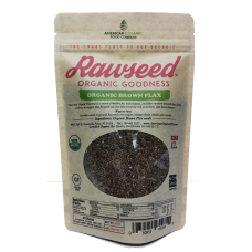 Organic Brown Flax Seeds 12 oz 4 pack