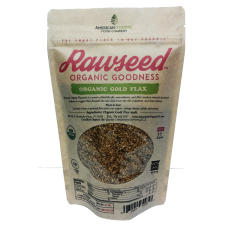Rawseed Organic Gold Flax Seeds 12 oz 4 pack