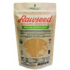 Rawseed Organic Certified Maca Powder 1 lb Gelatinized for Enhanced Bioavailability