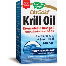 Krill Oil Bioavailable Omega 3 500mg 30 softgels 2 Pack