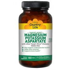 Magnesium Potassium Aspartate 90 Tablets 2 Pack