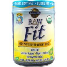 Raw Fit Real Raw Vanilla 16 oz