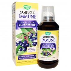 Sambucus Immune Standardized Elderberry Syrup 8 fl oz