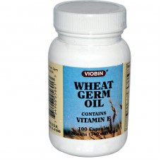 Wheat Germ Oil contains Vitamin E 100 Capsules 340 mg