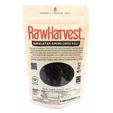 RawHarvest Himalayan Ancho Chile Salt Coarse 12 oz 1 Pack