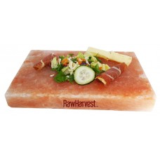 RawHarvest Himalayan Pink Salt Block for Grilling, Cooking, and Seasoning 12x8x2