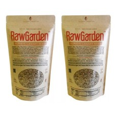 Raw Garden Alpiste Canary Seeds 4 Lbs For Human Consumption Silica Fiber Free 2 Pack of 2 Lbs