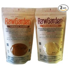 Raw Garden Ginger & Tumeric Powder 2 Pack (1 lb bag of each)