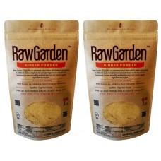 Raw Garden Ginger Powder 2 Pack (2 lbs) No sulfites, Non GMO, & Gluten Free