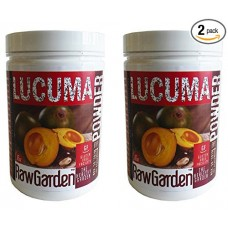 Raw Garden Lucuma Powder 2 Pack of 1Lb each one Peruvian 100% Premium Quality Non Irradiated Non sulfites