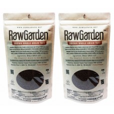 Raw Garden Brown Whole Grain Teff 4 Lbs (2 lb 2 Pack)