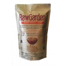 Raw Garden Cuzco Giant White Corn 10 lb Bag, Maiz Cuzco Gigante