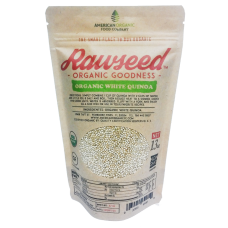 Rawseed Organic White Quinoa 13 Oz 4 Pack