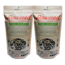 Rawseed Organic Tricolor Rice 2 lbs 2 Pack