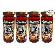 Rawseed Organic Brown Rice Syrup (4 Pack)