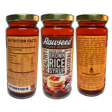 Rawseed Organic Brown Rice Syrup 3 Pack