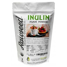 Rawseed Organic Inulin Prebiotic Powder (Agave) 32 oz (2 Lbs) 1 Pack Vegan & Keto Friendly