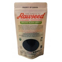 Rawseed Organic Black Lentils 10 lbs  Non Gmo   Product of Canada