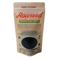 Rawseed Organic Black Lentils 10 lbs  Non Gmo   Product of Canada