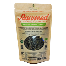Rawseed Organic French Lentils 2 lb 4 Pack
