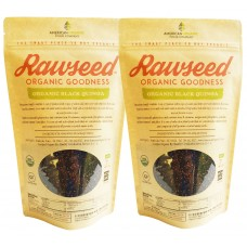Rawseed Organic Mix Black & Red Quinoa 2 Pack of 2 lbs (4 lb)