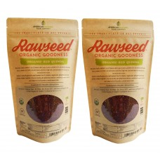 Organic Certified Peruvian or Bolivia 100%, Natural, Pre-Wash 2 times Red quinoa. 2 Packs of 2lbs, gluten free.