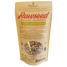 Rawseed Organic Certified Pre-washed Tri-color Quinoa, 10 lb 1 Pack