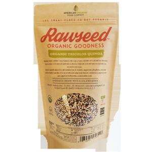 Rawseed Organic Tricolor Quinoa 2 LB