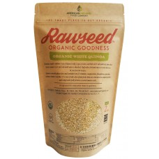 Rawseed Organic Certified Pre-washed White Quinoa, 10 lb 1 Pack