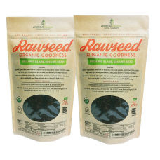 Rawseed Black Sesame Seeds (Raw Unhulled), 3 lbs  Organic Certifed 2 Pack 1 1/2 Lbs