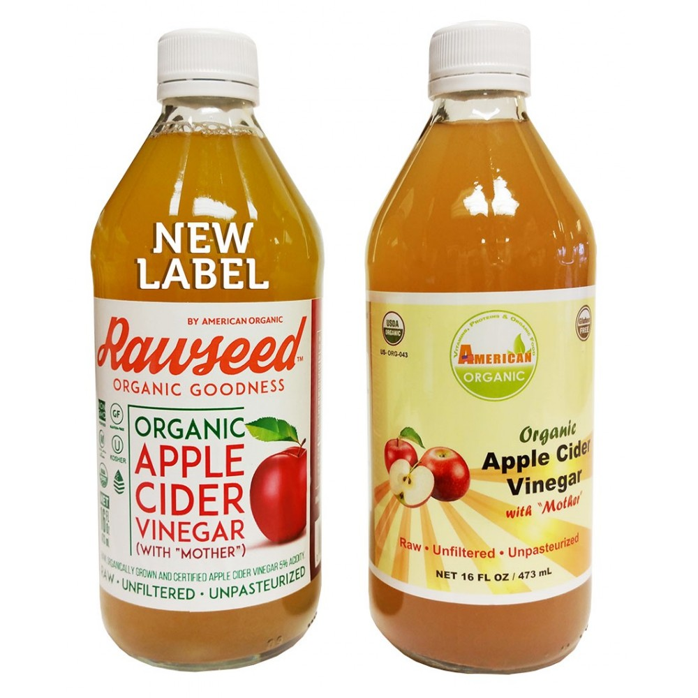 Organic Apple Cider Vinegar With Mother 16 Fl Oz 2 Pack New Arrival Bragg 473 Ml 4