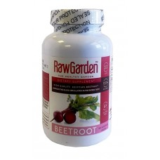 "Raw Garden Beet Root 500 mg Capsules (200 ct) ""Beta vulgaris"""