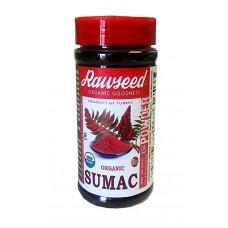 Rawseed Organic Ground Sumac 8 oz Bottle