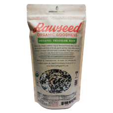 Rawseed Organic Tricolor Rice 2 lbs 1 Pack