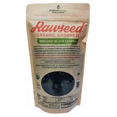 Rawseed Organic Black Beluga Lentils 2 lbs Non Gmo