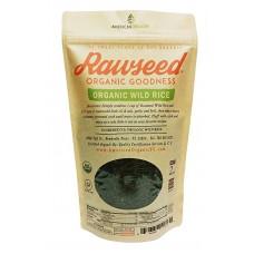 Rawseed Organic Wild Rice 2 lbs 1 Pack